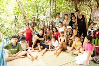 Gia đình ca sỹ Hồ Ngọc Hà về tham quan Vườn Quốc gia Phong Nha – Kẻ Bàng